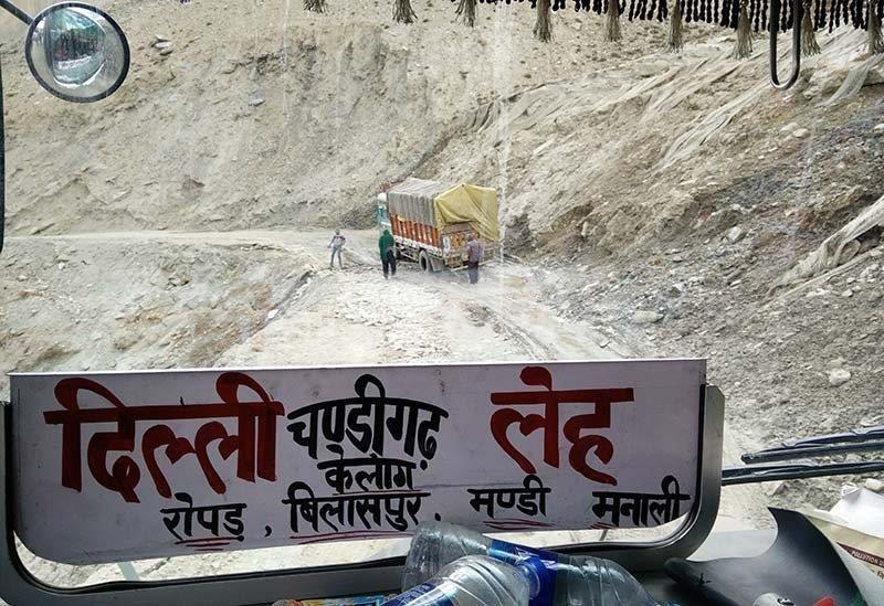 Delhi to Leh bus service