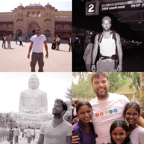 Ricky Martin in India